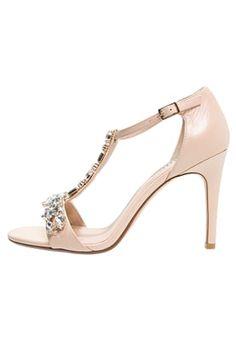 3fcc6fdab MAKEETA - High Heel Sandaletten - nude