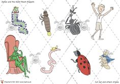 Teacher's Pet - James and the Giant Peach Character Profiles - Premium Printable Classroom Activities and Games - EYFS, KS1, KS2, Roald Dahl, characters, James and the Giant Peach, profile, description, describe