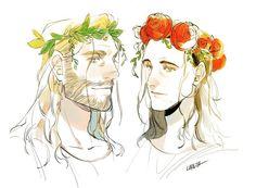 Thor & Loki || Cr: Manta