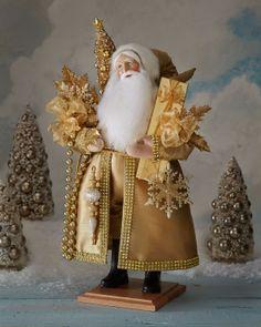 Lynn Haney Snowflake Santa - Neiman Marcus