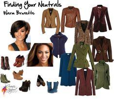 Finding Your Neutrals - Warm Brunette
