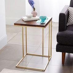 Grid Frame Side Table #westelm