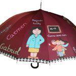 Paraguas personalizados yoriginales para profesores