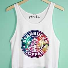 cute crop tops for tweens Teen Fashion Outfits, Outfits For Teens, Cool Outfits, Summer Outfits, Casual Outfits, Crop Tops For Tweens, Starbucks Shirt, Belly Shirts, Crop Top Outfits