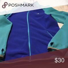 North face jacket Real and royal blue North Face Jackets & Coats Utility Jackets