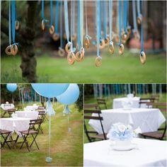 Bautizo ni o color azul ideas para bautizos pinterest for Decoracion bautizo en jardin
