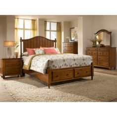 Hayden Place Cherry Bedroom Group | 4648BRYH | Bedroom Groups | Colonial Heights Furniture