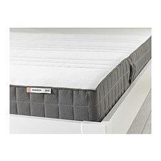 MORGEDAL Colchão de espuma - 140x200 cm, firme/cinz esc - IKEA