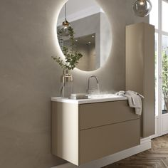 VISKAN Solid - a classic furniture design that looks great in most bathrooms. Available in a wide range of sizes, NCS and with many options… Luxury Bathroom Vanities, Rustic Bathrooms, Classic Furniture, Bathroom Interior Design, Bathroom Inspiration, Home Living Room, Furniture Design, House Design, Home Decor