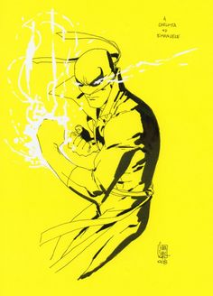Iron Fist by Giuseppe Camuncoli Marvel Art, Marvel Heroes, Marvel Comics, Comic Book Artists, Comic Books Art, Comic Art, Iron Fist Powers, Comic Book Wallpaper, Danny Rand