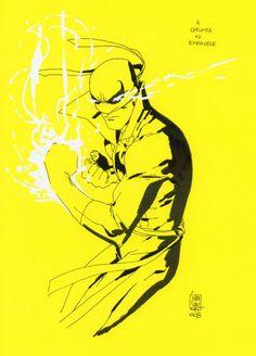 Iron Fist by Giuseppe Camuncoli *