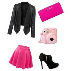 Pink by lraspudic on Polyvore featuring polyvore, fashion, style and MICHAEL Michael Kors
