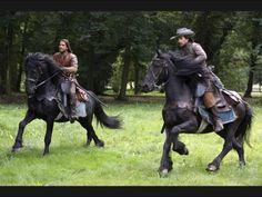 The Musketeers - Series II BtS filming via Jessica Pope's Twitter (D'Artagnan & Aramis)