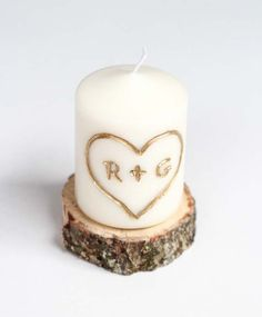 DIY Valentine Gifts - Candle Carved With Initials - Gifts for Her and Him, Teens, Teenagers and Tweens - Mason Jar Ideas, Homemade Cards, Cheap and Easy Gift Ideas for Valentine Presents http://diyprojectsforteens.com/diy-valentine-gifts