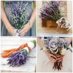 Top Romantic Lavender Infused Wedding Ideas and Invitations -InvitesWeddings.com    lavender wedding bouquets