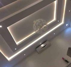 Simple False Ceiling Design, Gypsum Ceiling Design, Interior Ceiling Design, House Ceiling Design, Bedroom False Ceiling Design, Ceiling Light Design, Ceiling Decor, Living Room Lighting Design, False Ceiling Living Room