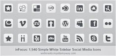 Free Social Media Icon Sets – Best Of