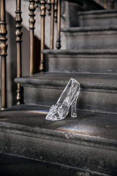 La zapatilla de cristal de Cenicienta de Swarovski en Mexico