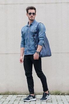 Being in your 20s is one of the best times to get creative and experimental with fashion and style. Check out 15 Classy & Simple Denim Shirt Outfit for Men in their 20s.
