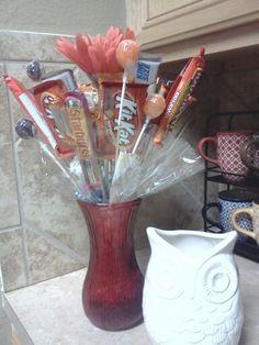 Candy bouquet idea's
