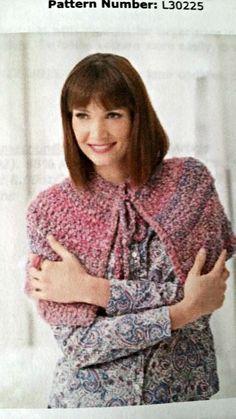 #Crochet Cape Lion Brand Pattern - Part Two
