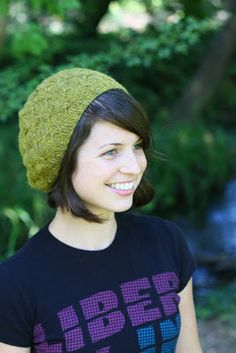 i dream of knitting: Butterfly Beret Pattern - FREE!