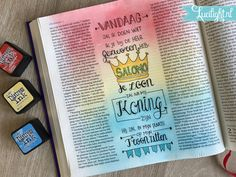 Batsheba #woordvrouw #31daysofbiblicalwomen page by Lucilight, read more about it on the blog Bible Journal, My Journal, Bible Art, Bible Verses, Thy Word, Illustrated Faith, Art Journal Inspiration, Journals, Artsy