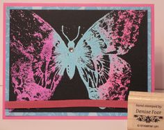 Swallowtail Butterfly | Denise Foor Studio PA  Stampin' Up!