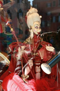 Venice marionettes - puppet - Red Lady | Flickr - Photo Sharing!