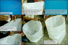 How to make Sky Lanterns