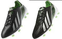info for ae14d 3ec06 ADIDAS F50 ADIZERO – BLACK   WHITE   GREEN ZEST Futbol, Fútbol, Blanco Negro