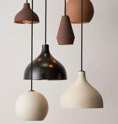 Folk Abigail ceramic pendant lighting - made to order - Rejuvenation Ceramic Light, Ceramic Pendant, Pendant Lamp, Pendant Lighting, Plug In Pendant Light, Ceramic Lamps, Raku Pottery, Art Deco Lighting, Antique Lighting