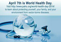 April 7th - World Health Day                            #SmileOasis.com