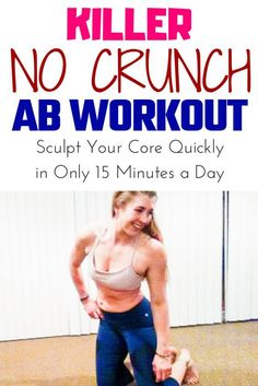 Target Abdominals without crunches and sit-ups. This amazing no crunch ab workout to target upper abs, lower abs, and obliques. Target Abdominals without crunches and sit-ups. This amazing no crunch ab workout to target upper abs, lower abs, and obliques. Lower Belly Workout, Flat Abs Workout, Abs Workout Video, Six Pack Abs Workout, Best Ab Workout, Abs Workout Routines, Lower Ab Workouts, Ab Workout At Home, Abs Workout For Women