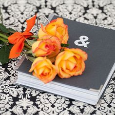DIY Wedding Album - This would be fun to make for friends and family who get married!!