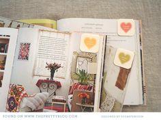DIY: Marcadores de Livros – Maionese