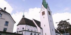 Dompfarrkirche St. Nikolaus © Gabriela von der Thannen Feldkirch, Dom, Mansions, House Styles, Home Decor, Bregenz, Architecture, Mansion Houses, Homemade Home Decor
