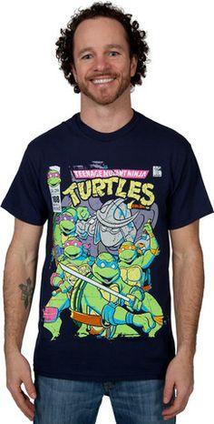 Comic Cover TMNT Shirt