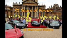 70 Years of Ferrari at Blenheim Palace | Project Shop TV