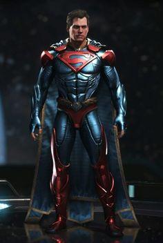 Evil Superman, Batman And Superman, Spiderman, Marvel Dc Comics, Dc Comics Art, Dc Injustice, Dc Comics Collection, Comic Costume, Superhero Villains