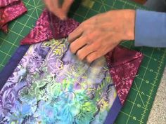Continuous Prairie Points are Ingenious! Prairie points add a lovely frame to the edge of a quilt, and often are used right at the edge instead of a binding. They can also be turned in, appearing on top of the quilt border just inside of the binding. Or place them on an inner border or …