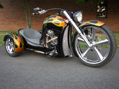 "Manufactured by Olmax Fabrication LLC, the SS Trike is reminiscent of the Big Wheels we rode as kids-- except this one can be adjusted to accommodate riders between 5' and 6' 2"" tall in less than five minutes. Oh, and it's got a 24-inch front wheel, two 14-inch rear wheels, and a choice of powerplants from Ultima, S or TP alongside an optional race-ready General Motors Powerglide-sourced automatic transmission."