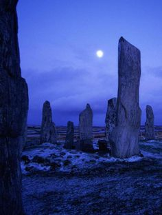 Callanish Stones, Isle of Lewis, Stornoway, Scotland.