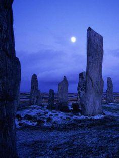 Callanish Stones, Isle of Lewis, Stornoway, Scotland.