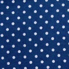 Weiße Punkte treffen auf kräftiges Kobalt-blau