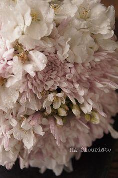 桜のブーケドマリエ : Rieko Ando RA fleuriste blog