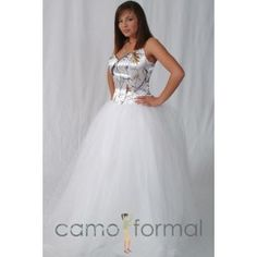 Trustful White Camo Wedding Dresses True Timber Snowfall Camouflage Ball Gown Court Train Camo Bridal Gown Robe De Mariage Available In Various Designs And Specifications For Your Selection Weddings & Events
