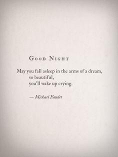 Good Night by Michael Faudet
