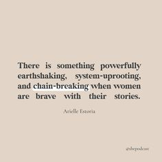 Vulnerability takes courage, but it can change the world. Don't ever forget that your story has power.