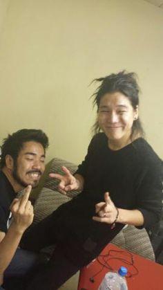 Kenta Koie and Hiroki Ikegawa - Crossfaith